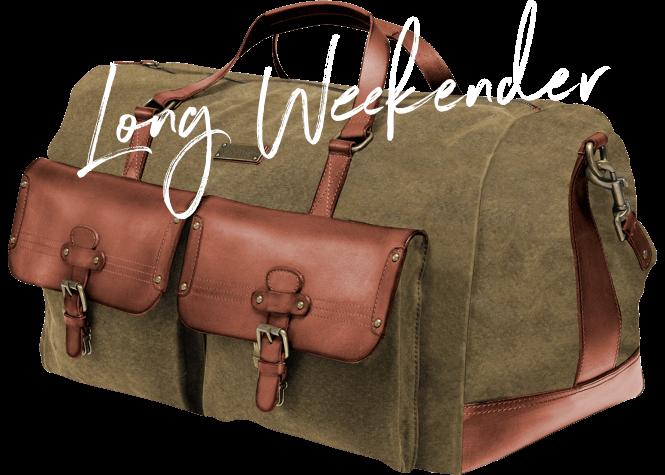 DRAKENSBERG Ikone Bestseller Long Weekender Reisetasche Luxus Sporttasche