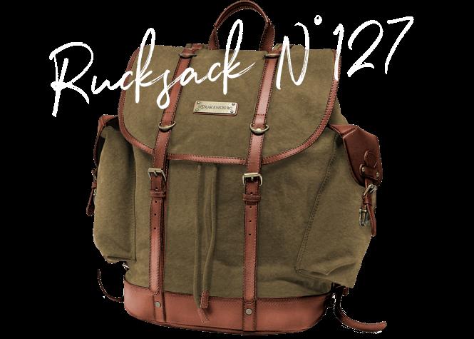 DRAKENSBERG Ikone Bestseller Rucksack N° 127 Backpack Wanderrucksack