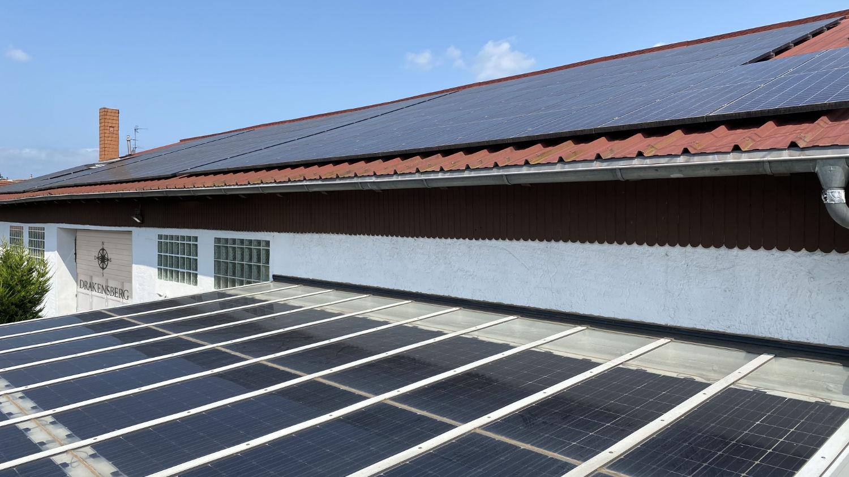 Wir produzieren unseren eigenen Strom mit unserer PV-Anlage