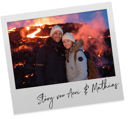Volcano adventure on Iceland with Anni and Mathias