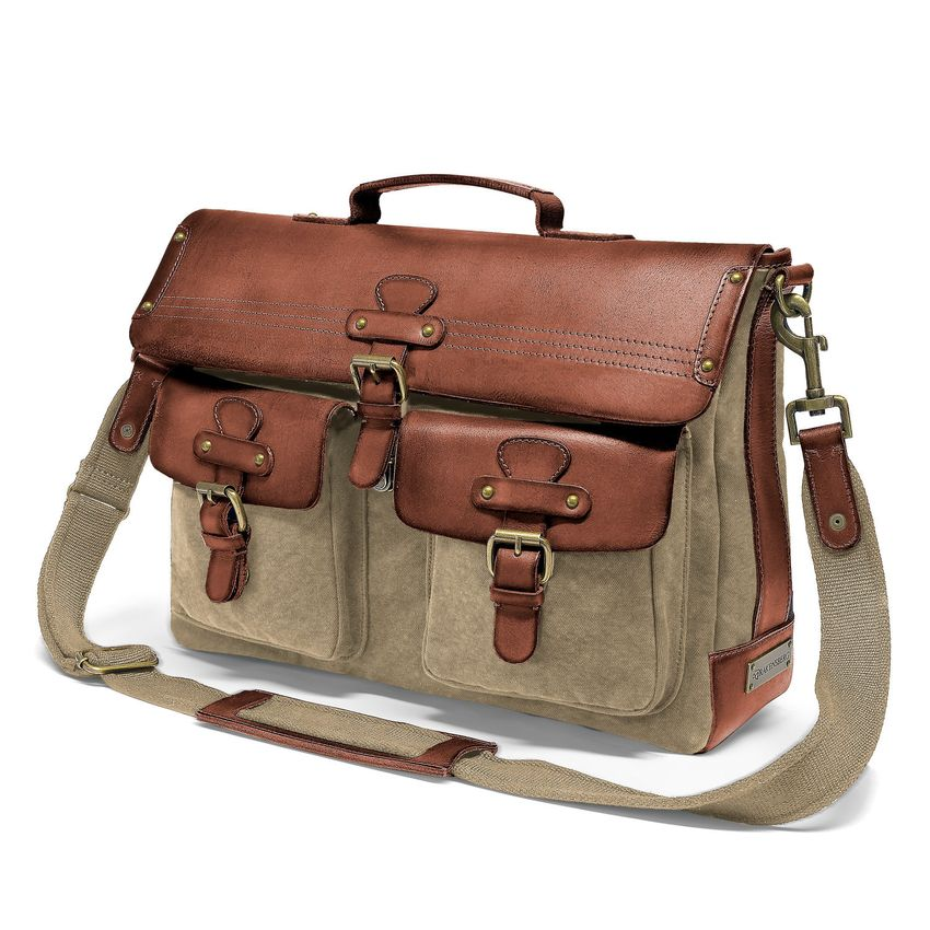 Messenger Bag - Beige