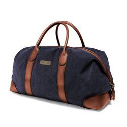 Duffel Weekender - Navy-Blue