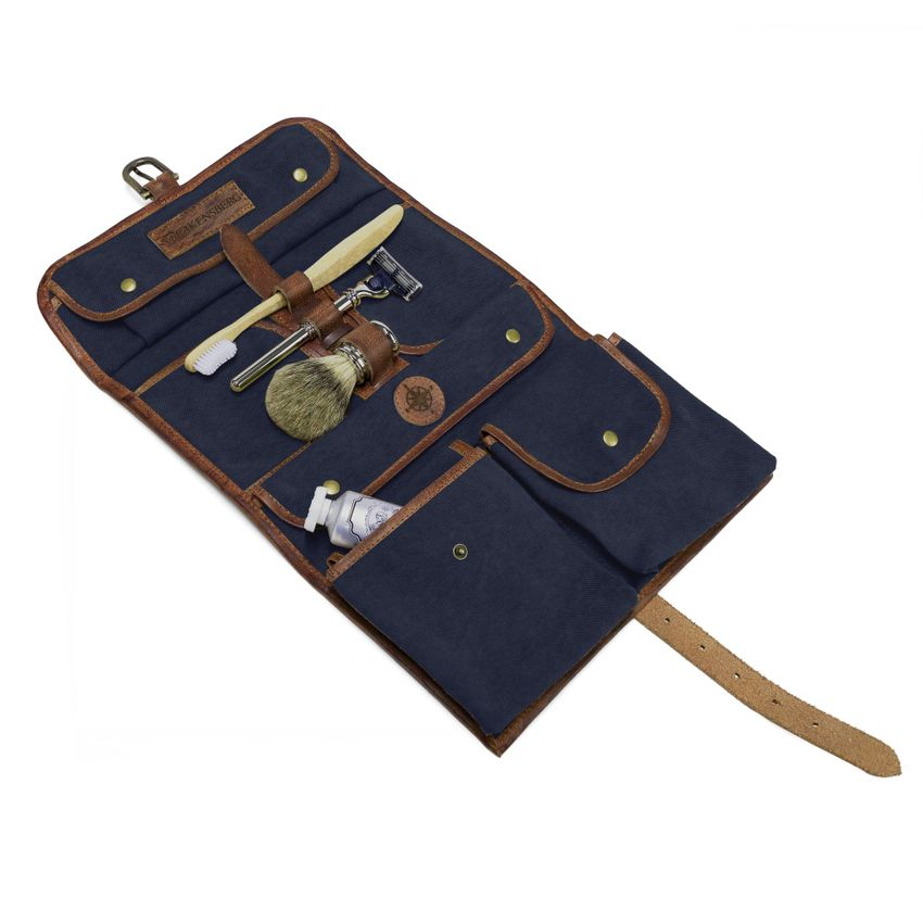 (B-Ware)   Wash Bag - Marine-Blau