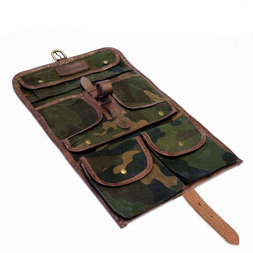 Wash Bag - Camouflage