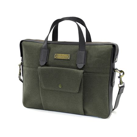 LAMOND - Briefcase - Green