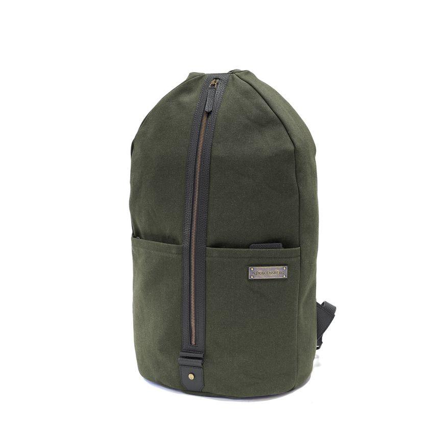 LAMOND - Duffel Backpack - Green