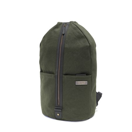 LAMOND - Duffel Backpack - Green
