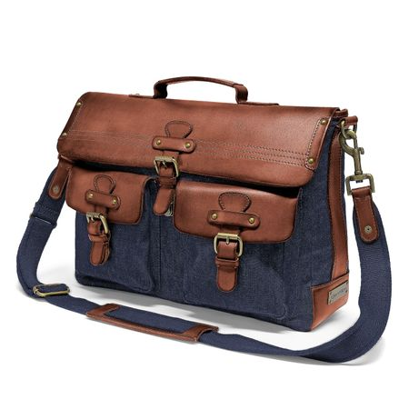 KIMBERLEY - Messenger Bag - Denim Blau