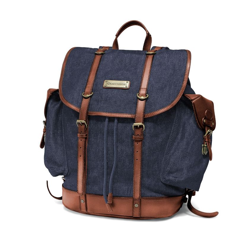Backpack - Denim Blau