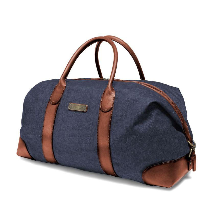 Duffel Weekender - denim blue