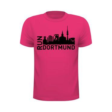 RUN Dortmund - Laufshirt mit Skyline – Bild 3