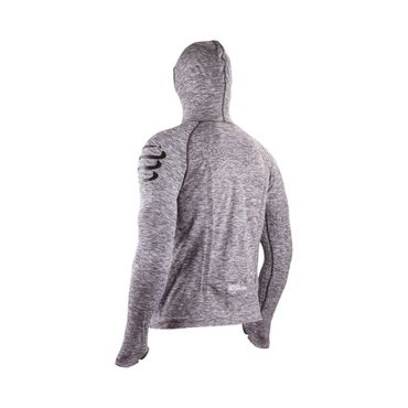 3D Thermo Seamless Hoodie Herbst Winter Funktionsmaterial – Bild 2