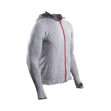 3D HOODED ZIP-JACKET Born to Swim # Bike #Run – Bild 4