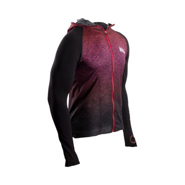 3D HOODED ZIP-JACKET Born to Swim # Bike #Run – Bild 2