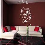 Wandtattoo Pferdekopf als Wandbild, Aufkleber, Sticker
