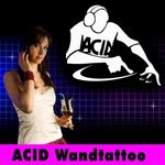 Wandtattoo DJ Wand Aufkleber Disco Style Wandbild