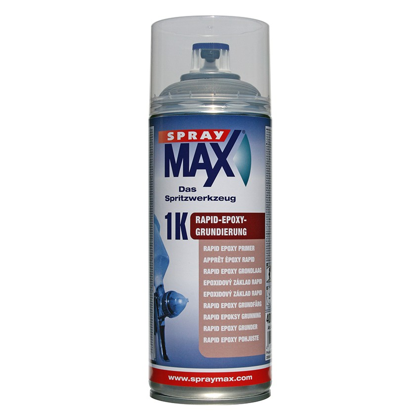 spraymax 1k epoxy grundierung rapid rostschutz primer metall aluminium gfk spray ebay. Black Bedroom Furniture Sets. Home Design Ideas