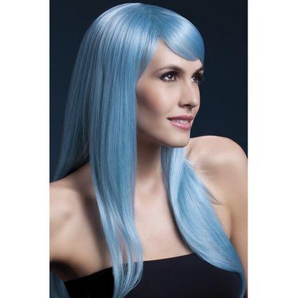 Perücke - Sienna Blau