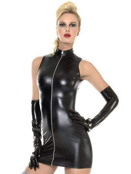 Wetlook Kleid - LINDSAY