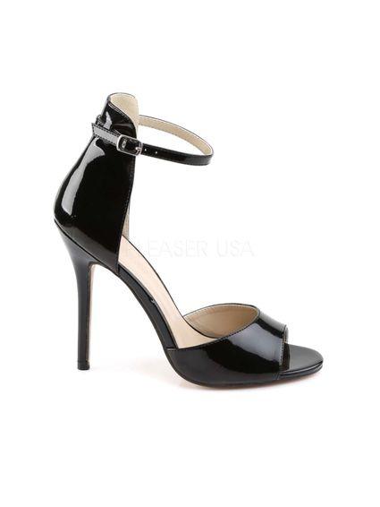 Sale - Lack Stilletto High Heel Sandale – Bild 3