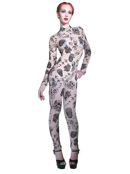 Sale - Catsuit Beverly Beige Nougat