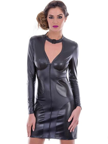 Wetlook Kleid, MORENCY