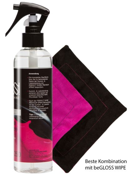 beGLOSS Perfect Shine PREMIUM PUMP SPRAY + WIPE SET – Bild 2