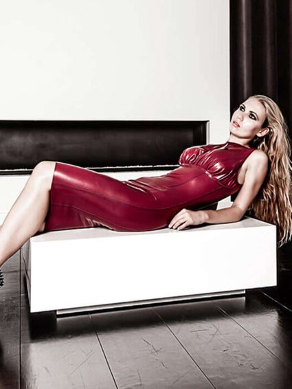 Latexdesginer Dress