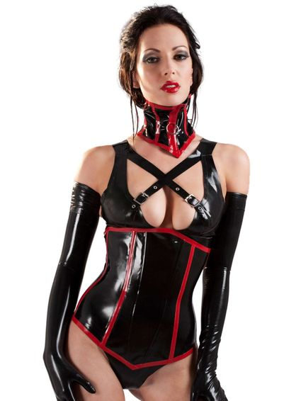 Latex Korsett – Bild 1