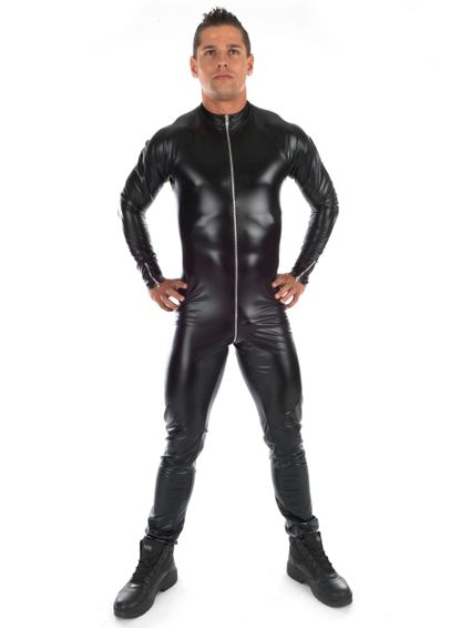 Ross - Herren Wetlook Catsuit
