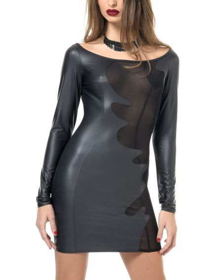 Sale - Wetlook Kleid, BRENDA – Bild 4