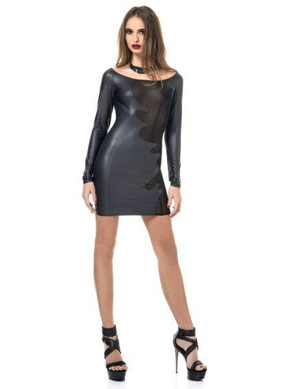 Sale - Wetlook Kleid, BRENDA – Bild 2