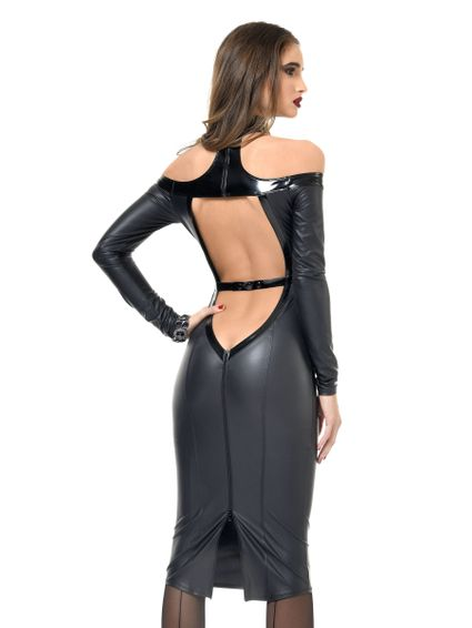 Wetlook Kleid - Chiara