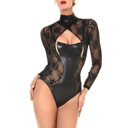 Wetlook Spitzen Body - Effie