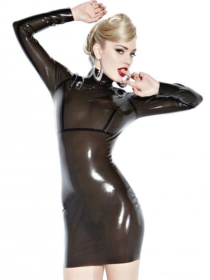 Latexkleid - Smoke Screen Seducer
