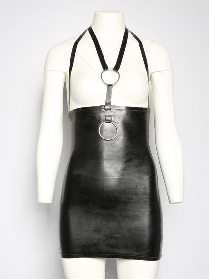 Devotion Exposure Latex Kleid schwarz – Bild 2