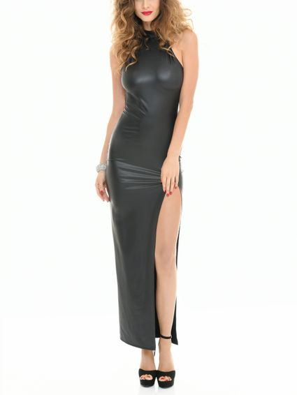 Wetlook Kleid - PoussyCat Abendkleid