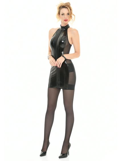 Sale - Lackkleid Minikleid Beatrice – Bild 5