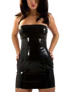 Latexkleid Black Spanky 001