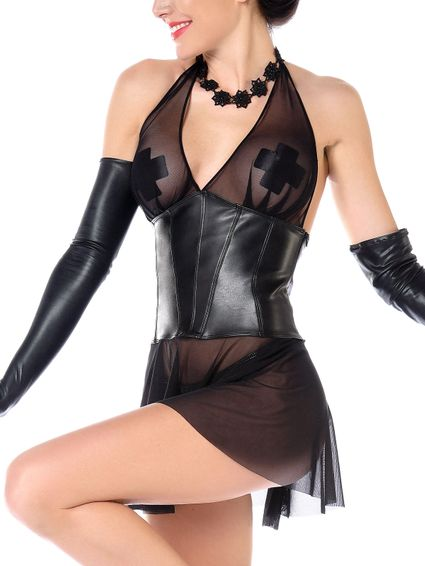 Wetlook Kleid - Aline