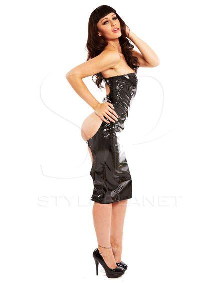 Lackkleid - Spanking Dress – Bild 4