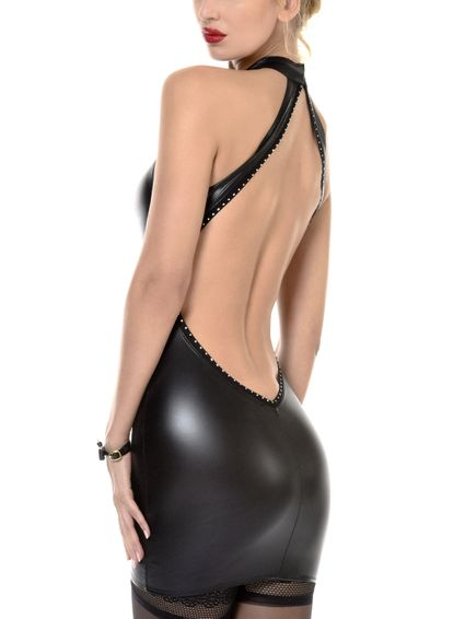 Wetlook Kleid - Pussy Cat