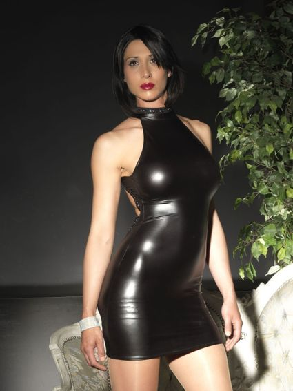Sale - Wetlook Kleid - Jacee – Bild 3