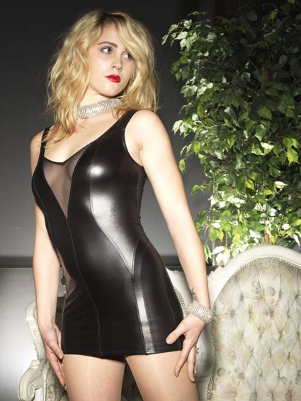 Sale - Wetlook Kleid - Kacee – Bild 1