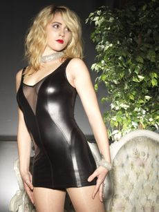 Sale - Wetlook Kleid - Kacee 001