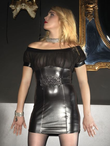 Sale - Wetlook Kleid - Payton – Bild 1