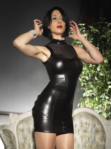 Sale - Wetlook Kleid - Paige – Bild 3