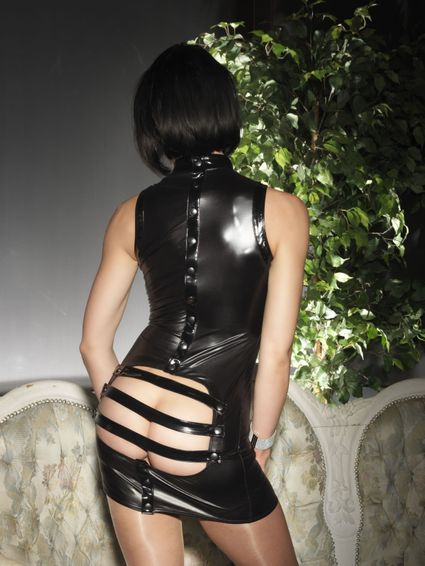 Sale - Wetlook Kleid - Paige – Bild 4