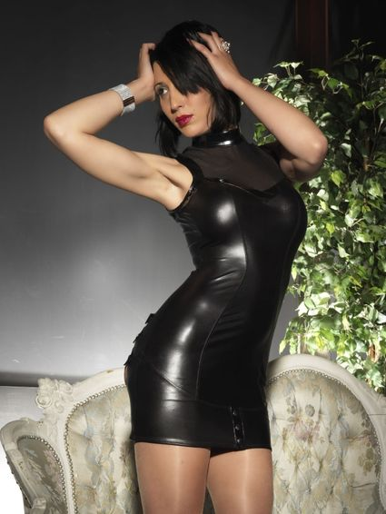 Sale - Wetlook Kleid - Paige