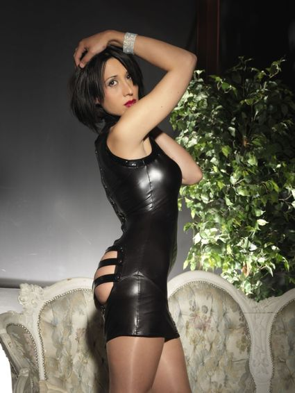 Sale - Wetlook Kleid - Paige – Bild 5